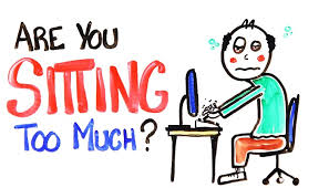 Sitting is bad for yourbrain!!!!