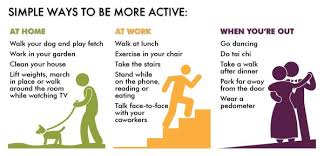 be more active!!!